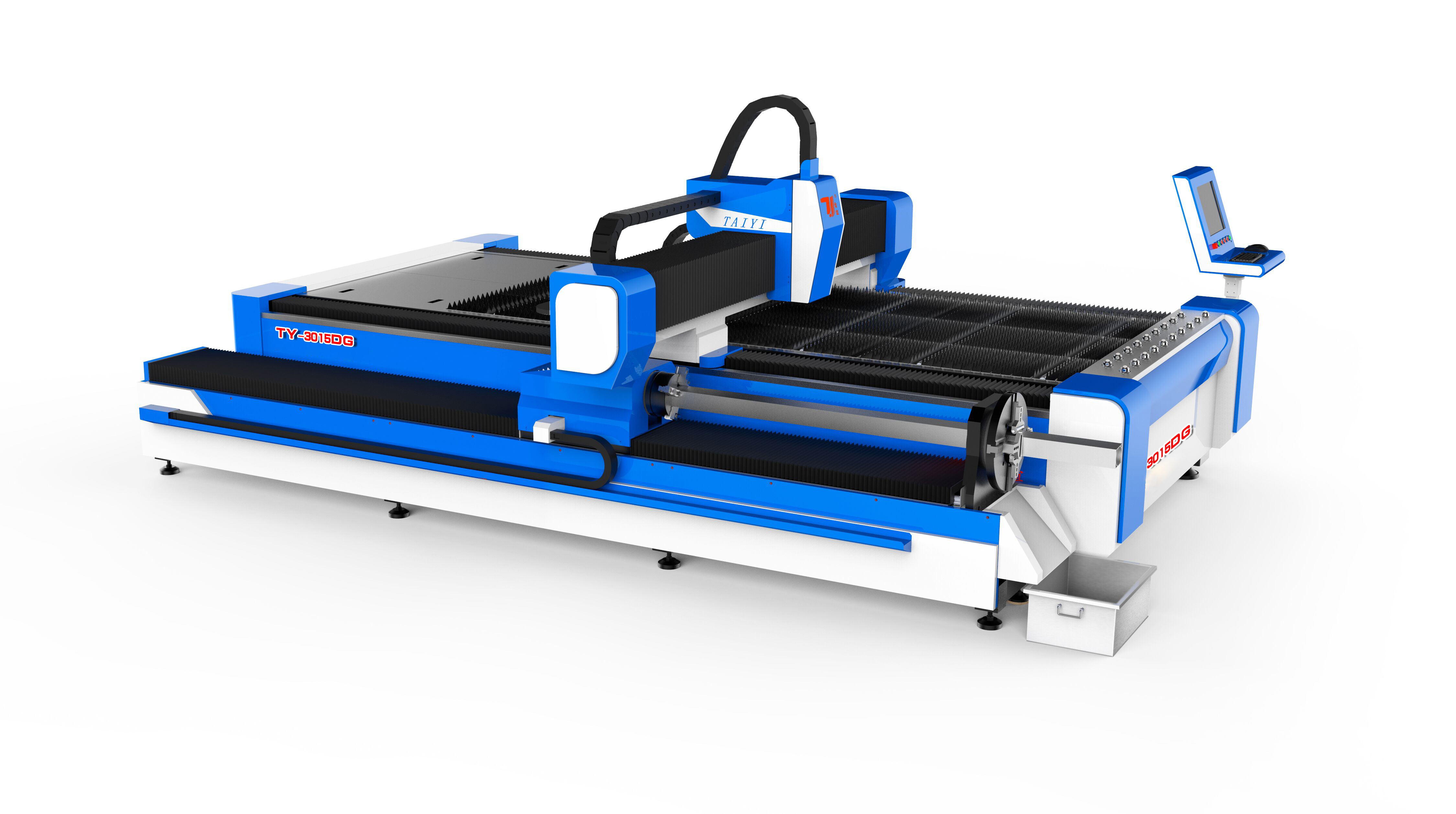TY-3015DG Sheet and Pipes Cutting in One Laser Cutting Machine