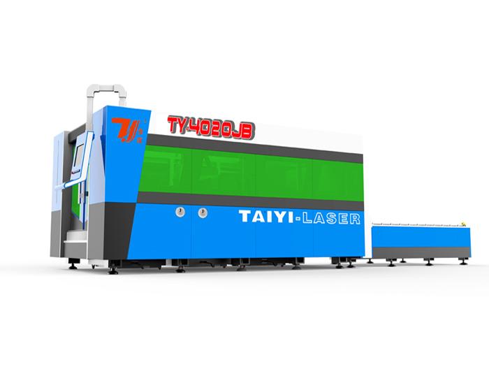 TY-4020JB Fiber Laser Cutting Machine equipmented with Imported servo motor