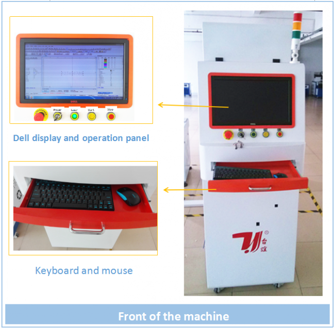 China newest design selling Full automatic cable wire laser marking printing machine with fast speed