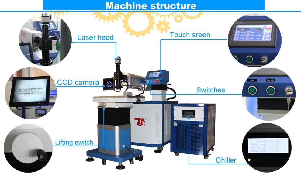 Low price mould repair desktop laser welder welding machine