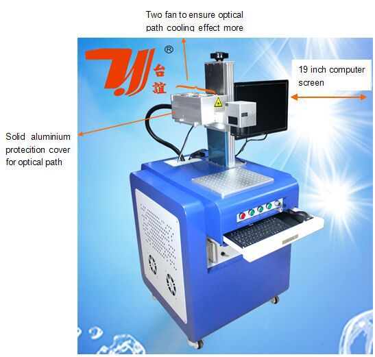 High Quality Electronic Component Chip Uv Laser Marking Machine 3W